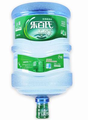 乐百氏5加仑桶装纯净水