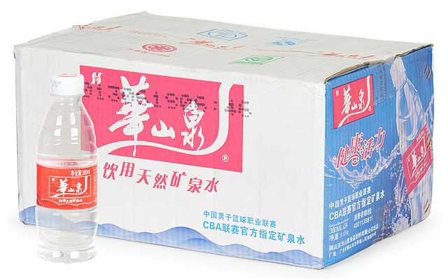 华山泉矿泉水380ml*24